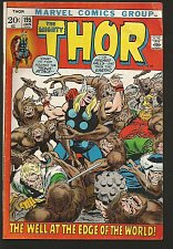 Buy THOR #195 Conway and Buscema Marvel Comics 1971 1st Print and Series
