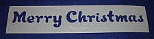 """Buy Merry Christmas Message Stencil-14 Mil Mylar-5"""" x 23.5 Painting/Crafts/Stencil"""