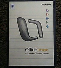 Buy Microsoft OFFICE 2004 Student Teacher Edition W/ 3 Product Keys for Mac - $0 S&H