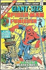 Buy GIANT-SIZED SPIDER-MAN & the PUNISHER #4 Marvel Comics 1975 Ditko Dr. Strange+