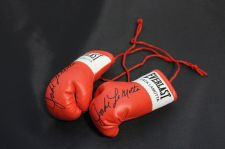 Buy Autographed Mini Boxing Gloves Jake Lamotta (the Bronx Bull)