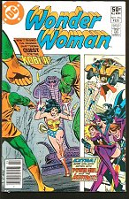 Buy WONDER WOMAN #276 VG+ DC Comics 1981 Conway KOBRA POWER GIRL Huntress