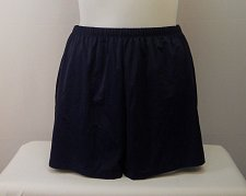 Buy SIZE 18 Women Swim Board Shorts SWIMSUITS FOR ALL Solid Navy Blue Attached Brief