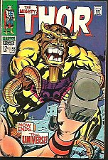 Buy THOR #155 SILVER AGE JACK KIRBY STAN LEE Marvel Comics 1968 1st Print & series