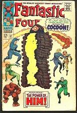 Buy Fantastic Four #67 HIM=WARLOCK Key Lee / Kirby 1st print GUARDIANS of the GALAXY