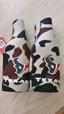 Buy (2) Houston Texans Camo Zipper Bottle Koozies (405)