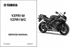 Buy 2007-2014 Yamaha YZF-R1 Service Repair Workshop Manual CD -- YZFR1 R1