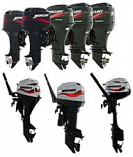 Buy 2001-2005 Mercury / Mariner 2.5hp-250hp 2-Stroke Outboard Service Manual on a CD