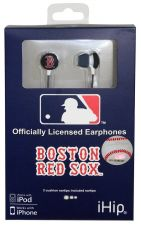 Buy MLB Boston Red Sox Printed Ear Buds, iHip
