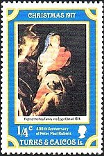 Buy TUrks and Caicos Islands 1v mnh Stamp 400th Anniversary of Peter Paul Rubens