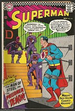Buy SUPERMAN #191 DC COMICS 1966 Silver Age 1st print Vintage, Aurora Ad too VG/+