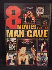 Buy 8movie DVD Amazons,Africa,Wild Women,Amy Fisher,Delilah,Pray for the Wildcats