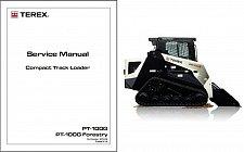 Buy Terex PT-100G / Forestry Skid Steer Loader Service Repair Manual CD - PT100G
