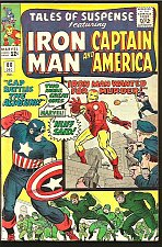 Buy Tales of Suspense #60 Capt. America Iron Man Jack Kirby 1964 1st Print & Series