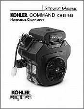 Buy Kohler Command CH18-745 Models Service Repair Manual CD CH20 CH22 CH23 CH25 CH26