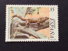 Buy Spain 1 v used stamp 1999 Hiero Giant Lizard mi 2978