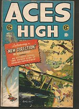 Buy ACES HIGH #1 EC COMICS 1st Series & Printing 1955 Wally Wood Kriegstein J. Davis