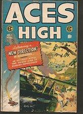 Buy ACES HIGH #1 EC COMICS 1st Series & Printing 1955 Wally Wood Kriegstein J. Davis