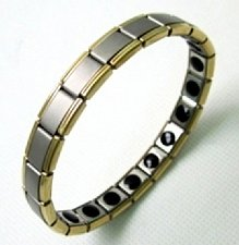 Buy HEALING PAIN REDUCE STRESS IMPROVE SLEEP MAGNETIC Germanium Bracelet EJCN-003A