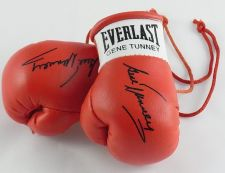 Buy Autographed Mini Boxing Gloves Gene Tunney. ( collectable memorabilia)