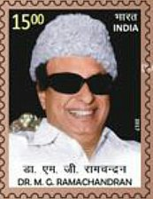 Buy India Commemorative Stamp 2017 famous actor as well as Chief Minister of Tamil