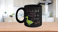 Buy I'm Really Just A Duck Trapped In A Human Body Coffee Mug