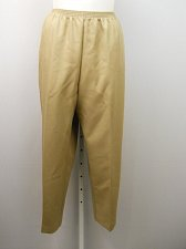Buy PLUS SIZE 24W Women Casual Pants ALFRED DUNNER Tan Classics Proportioned Medium