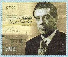 Buy Mexico 1v mnh stamp Centenary of the Birth of Adolfo Lopez Mateos Mi 3568
