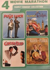 Buy 4movie DVD King Ralph,Pure Luck,for Richer or Poorer,Ghost Dad,John GOODMAN