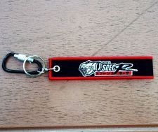 Buy 1 Embroidered Fabric Strap HKS Keychain Keyring Key Holder Tag Motorcycle
