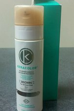 Buy Keracolor Brown color enhancing leave in conditioner adds color hard to find