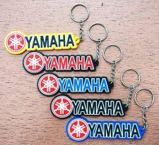 Buy KEYCHAIN KEYRING YAMAHA LOGO LONG RUBBER ROUND MOTORCYCLE BIKE ,GIFT