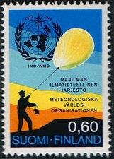 Buy Finland 1973, IMO, WMO, Meteorology, MNH s: Air Balloons | Meteorology | Meterol