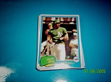 Buy 1981 Topps BASEBALL CARD OF MITCHELL PAGE #35 MINT FREE SHIPPING