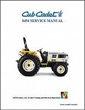 Buy Cub Cadet 8454 Tractor Repair Service Workshop Manual CD