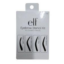 Buy e.l.f. Essential Tools 1722 Eyebrow Stencil Kit elf Eye Brow Curved Soft