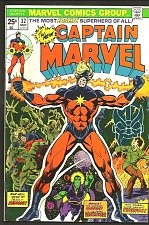 Buy CAPTAIN MARVEL #32 JIM STARLIN VeryFine+/NM- 1974 Guardians of the Galaxy Thomas