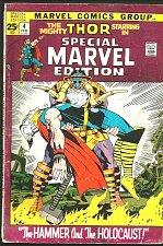 Buy THOR SPECIAL MARVEL EDITION #4 Jack Kirby SLee1972 AnnualSized Marvel Comic LOKI