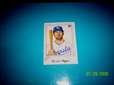 Buy 2017 TOPPS GALLERY ROOKIE CARD ROYALS HUNTER DOZIER #23