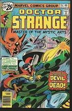 Buy Dr. Strange #16 GENE COLAN / PALMER / Englehart Marvel Comics 1976 Fine/VF-