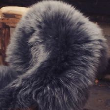 Buy Genuine Sheepskin Rug or Throw, approx 120 cm x 80 cm (New Zealand)