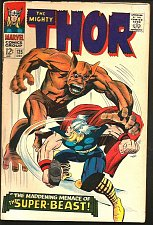 Buy THOR #135 VF Stan Lee & Jack Kirby Marvel Comics 1966 1st Print & series