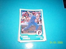 Buy 1988 Score Young Superstars series 1 baseball CHRIS JAMES #14 FREE SHIP