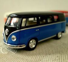 Buy Volkswagen Paint Classic Bus 1962 Kinsmart Diecast model Car 1/32,free shipping