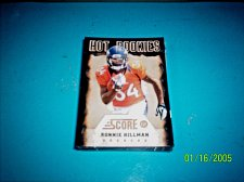 Buy RONNIE HILLMAN 2012 SCORE HOT ROOKIES # 29 ROOKIE RC BRONCOS free ship
