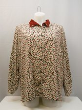 Buy Womens Shirt Size 26W 28W BOBBIE BROOKS Long Sleeves Collared Neck Button Down