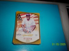 Buy TY GRIFFIN #18 2013 Panini USA Champions Gold Boarder Card FREE SHIP