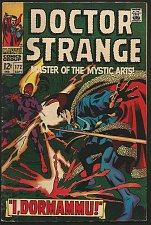 Buy DR. STRANGE #172 Marvel Comics FINE/VF- Roy Thomas GENE COLAN 1968 I, Dormammu