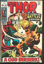 Buy THOR #166 Stan Lee 2nd Full WARLOCK Jack Kirby 1966