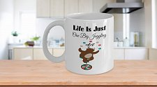 Buy Life Is Just One Big Juggling Act Bear Coffee Mug
